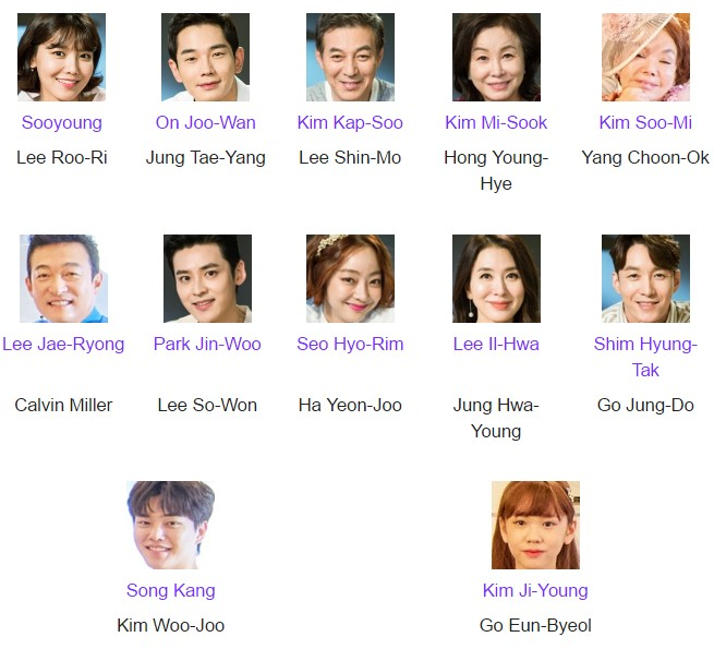 Daftar Pemain Drama Man Who Sets the Table Episode 1-Tamat