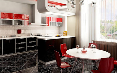 penataan kitchen set modern minimalis