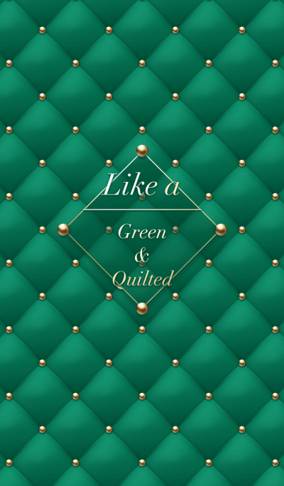 Like a - Green & Quilted *Noel