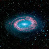Spiral Galaxy NGC 4725