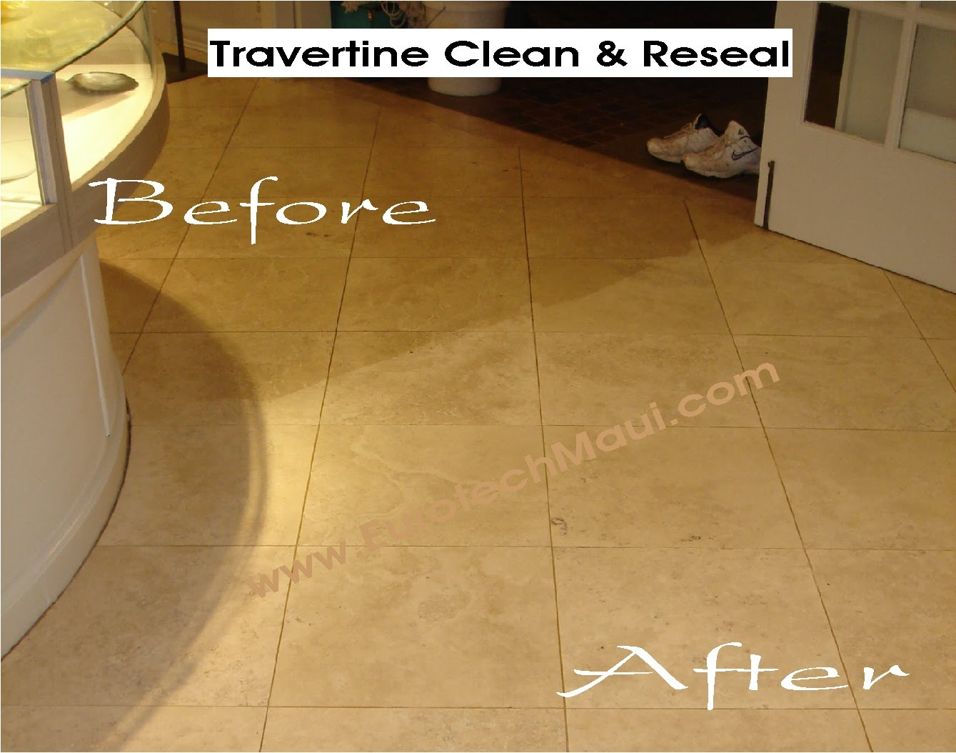 Travertine Countertop Care Eurotech Marble Stone Tile Care Maui Hawaii 808 877 0222