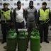 Los capturaron cuando robaban cilindros de gas en Istmina