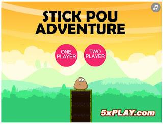 http://www.jogos360.com.br/stick_pou_adventures.html