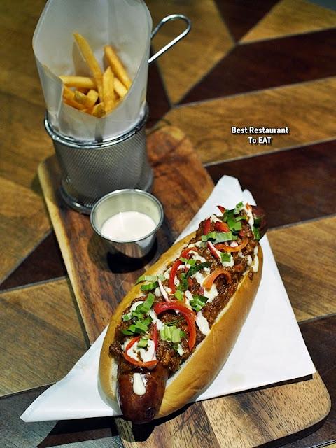 TOMMY THONGCHAI JAYA ONE  Menu - Thongchai's Chilli Dog