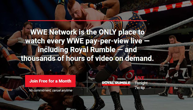 WWE Royal Rumble 2018 Live Stream Online WWE.com WWE Network
