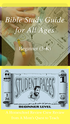 Cover of Student Pages of Bible Study Guide for All Ages
