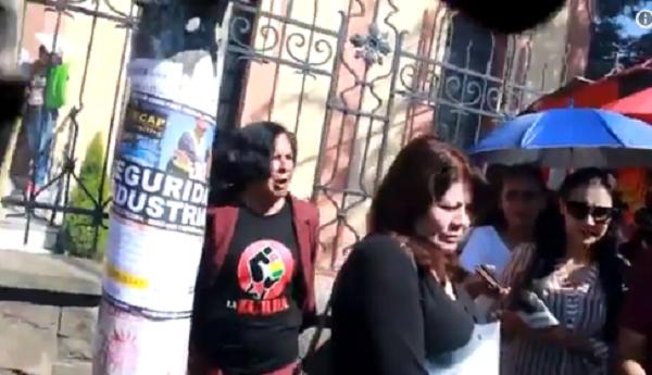 Grupo ideológico del MAS quiso obligar a Piérola a renunciar a su curul / TWITTER