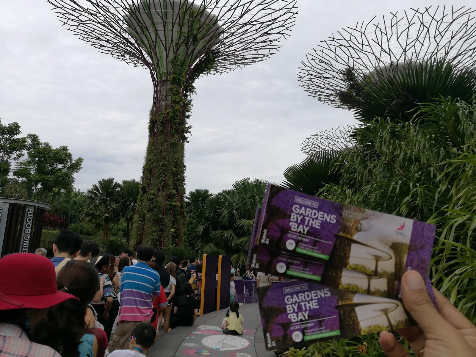 Japan Singapore Garden By The Bay Dewasa Tiket 8 Sorang