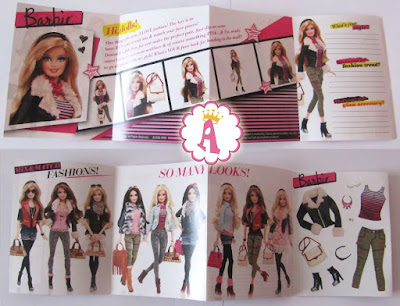Журнал из набора Barbie Style Leather Jacket 2013 - 2014