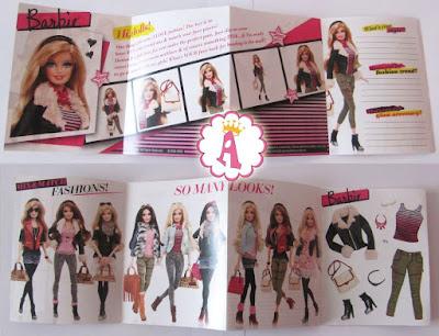 Журнал из набора Barbie Style Leather Jacket 2013 - 2014