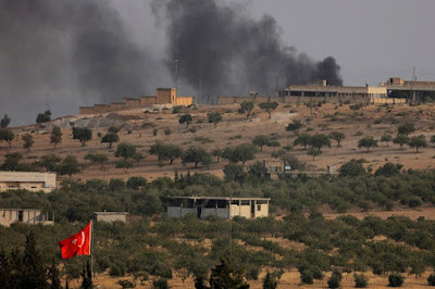 Wah Suriah Menyebut Jika Serangan Tank Dan Pasukan Khusus Turki di Jarablus (Suriah)  sebagai Agresi Milliter - Commando