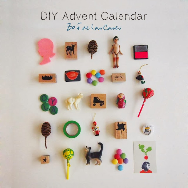 Pepper And Buttons: Advent Calendar By Zoe De Las Cases