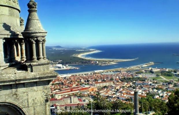Basílica de Santa Luzia, Zimbório vista panorâmica, Viana do Castelo