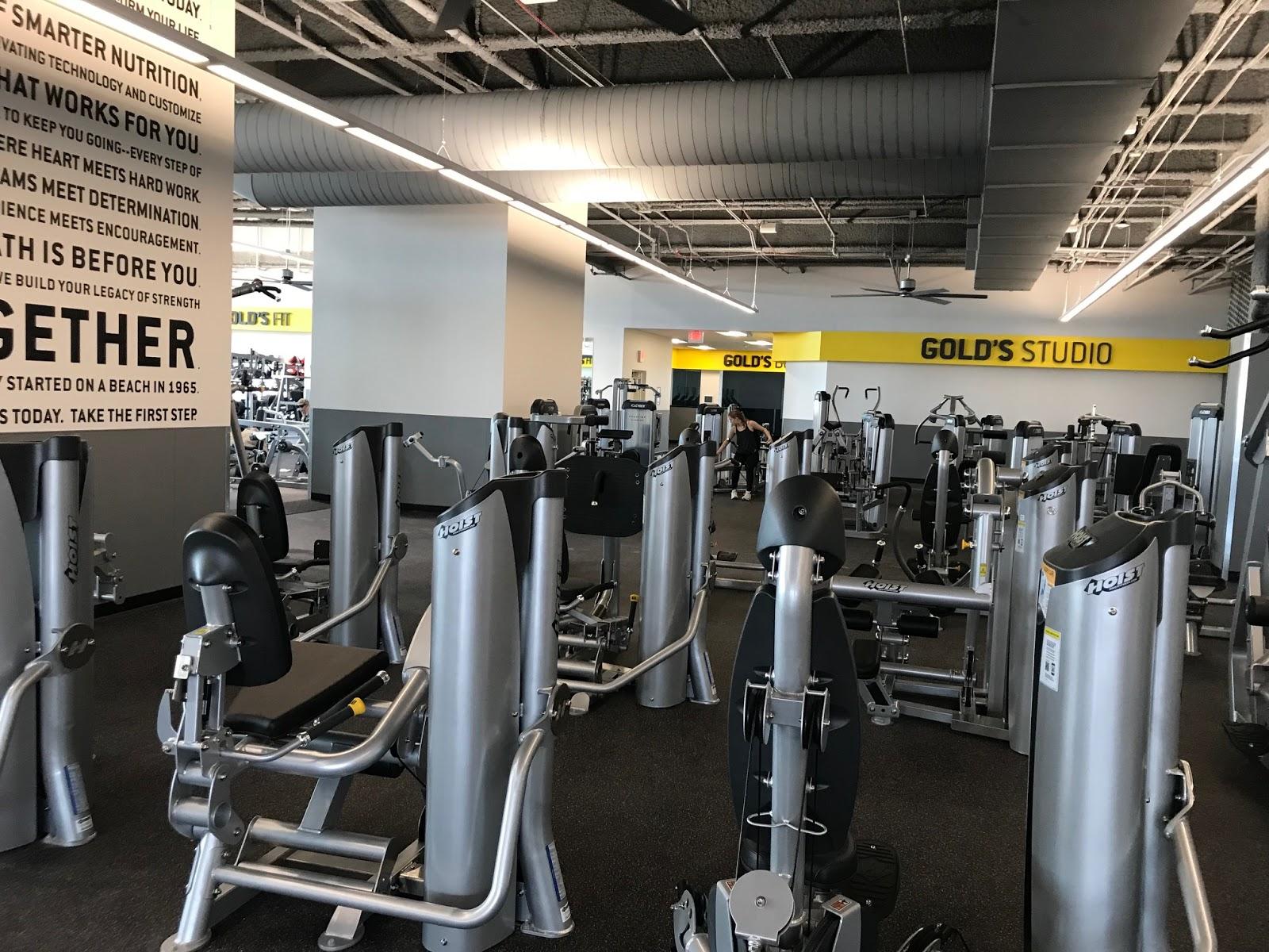 Riverdale park station inside gold s gym at
