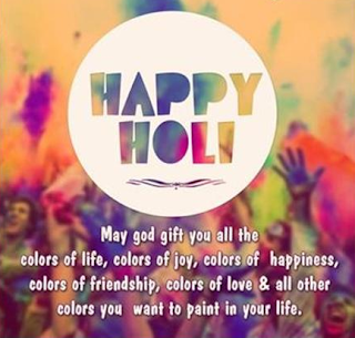 happy holi greetings for facebook