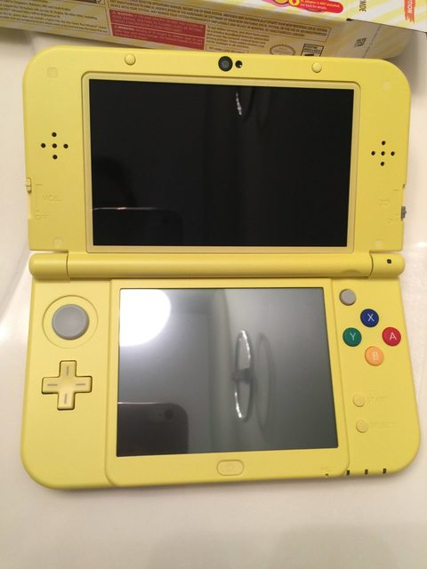 Mira cómo es la New 3DS XL Yellow Edition 1