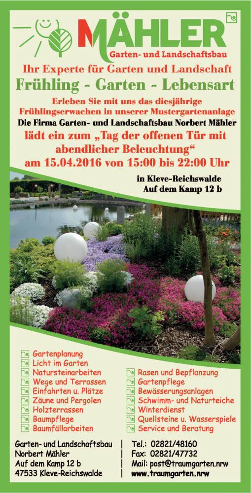 Garten- und Landschaftsbau Mähler