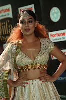 Apoorva Spicy Pics in Cream Deep Neck Choli Ghagra WOW at IIFA Utsavam Awards 2017 23.JPG