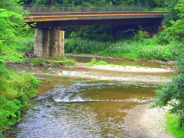 Styk rzek Kamienicy i Izery