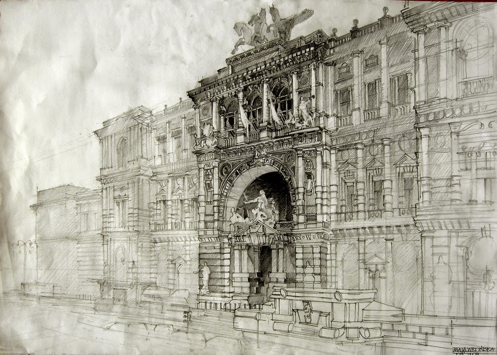 08-Maja-Wrońska-Architectural-Paintings-and-Drawing-Sketces-www-designstack-co