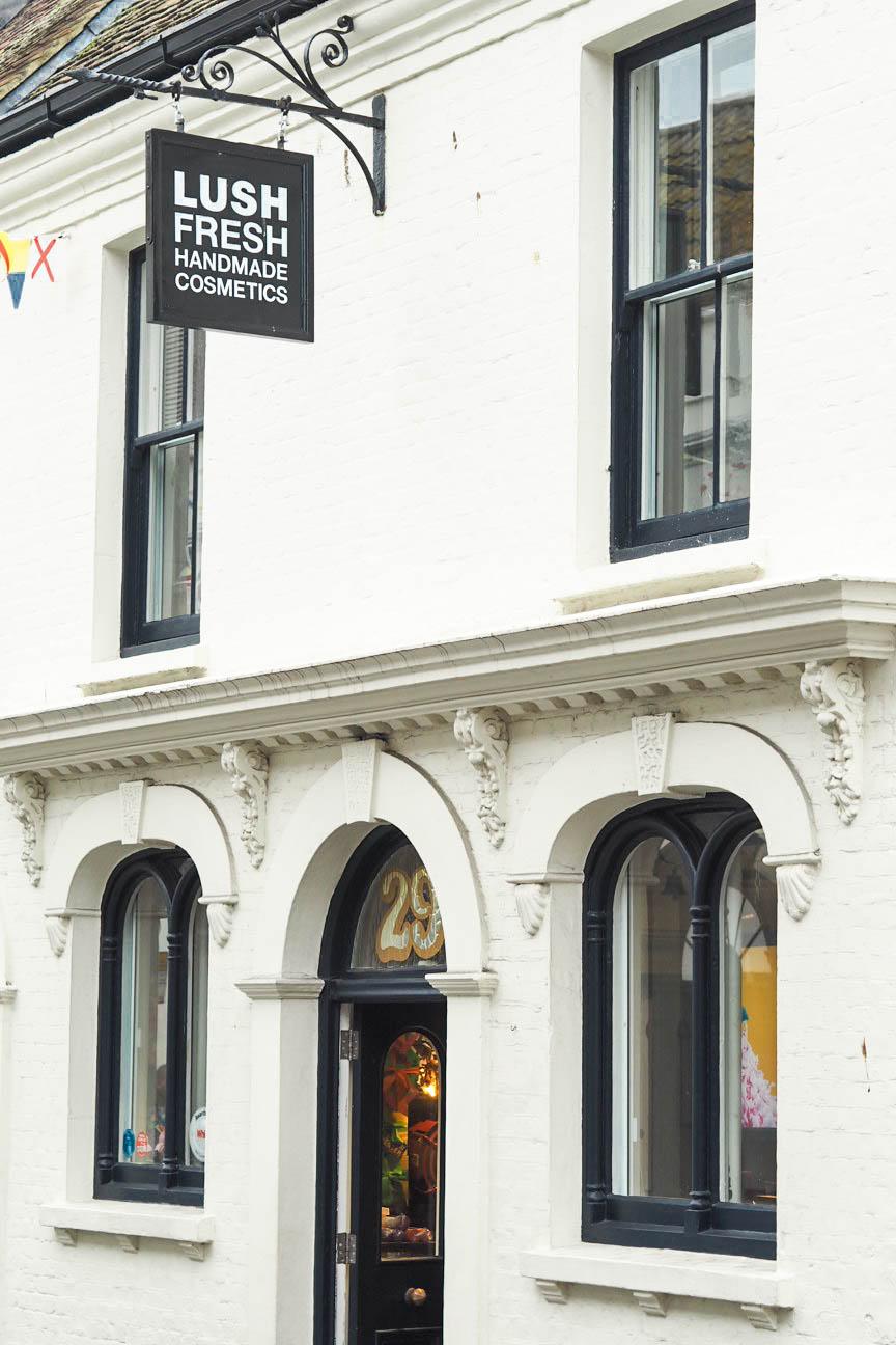 Lush store, Poole