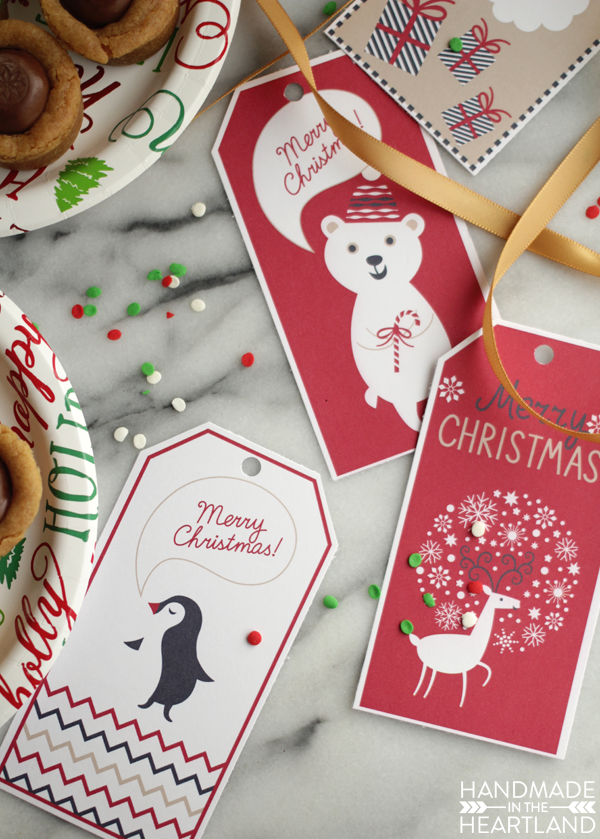 Free Christmas gift tags to print