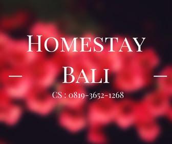 Homestay Dengan Harga Murah Daerah Denpasar Bali