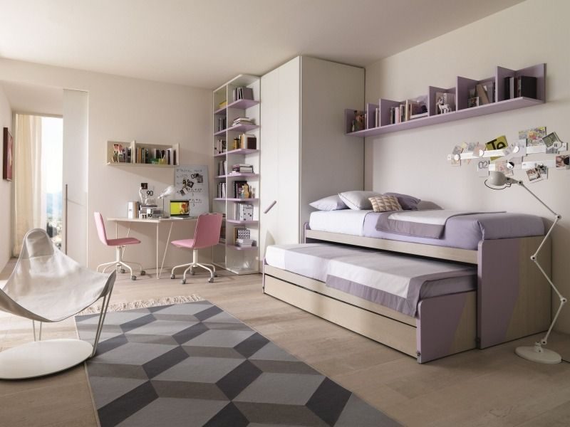 Dormitorios juveniles para dos chicas modernas - Dormitorios juveniles chicas ...