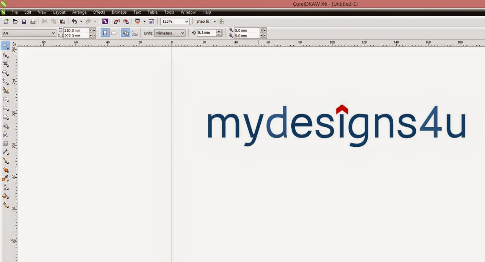 Logo Mock-up with CorelDraw - A Graphic Design Blog