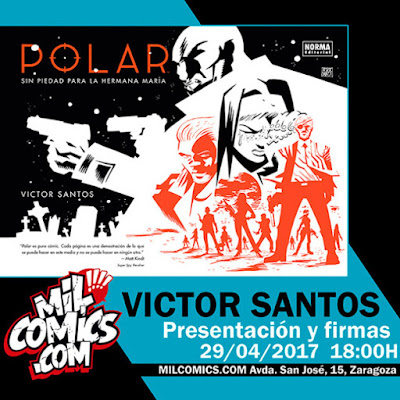 """Víctor Santos firma """"Polar"""" en Zaragoza"""