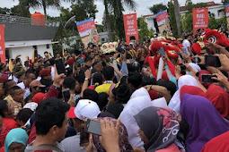 Hadiri Pagelaran Budaya di Riau, Jokowi Disambut Teriakan 'I Love You'