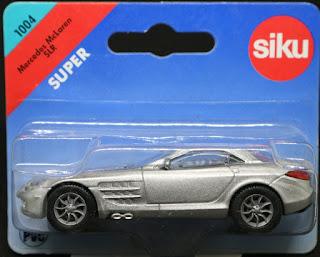 Siku - 1004, Mclaren SLR 吸塑包裝