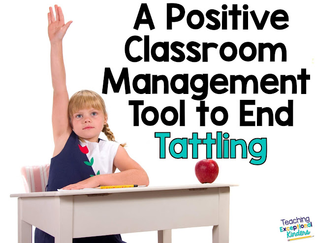 Learn how to use class shout outs to focus on the positives and end tattling in your classroom today!