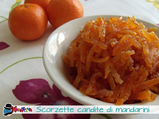 Scorzette candite di mandarini