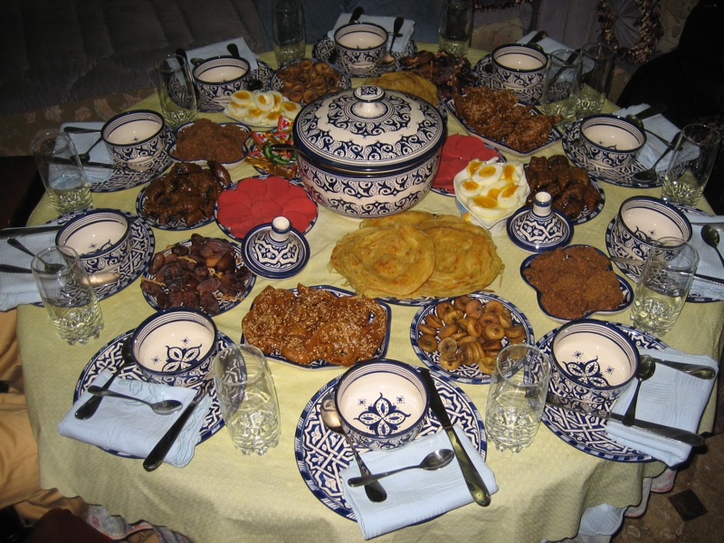 eviter plats sales sucres en ramadan