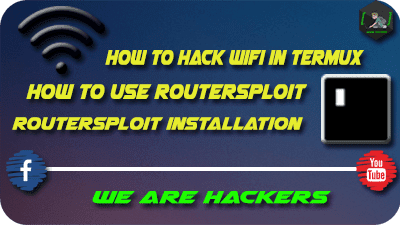 how to use routersploit in termux
