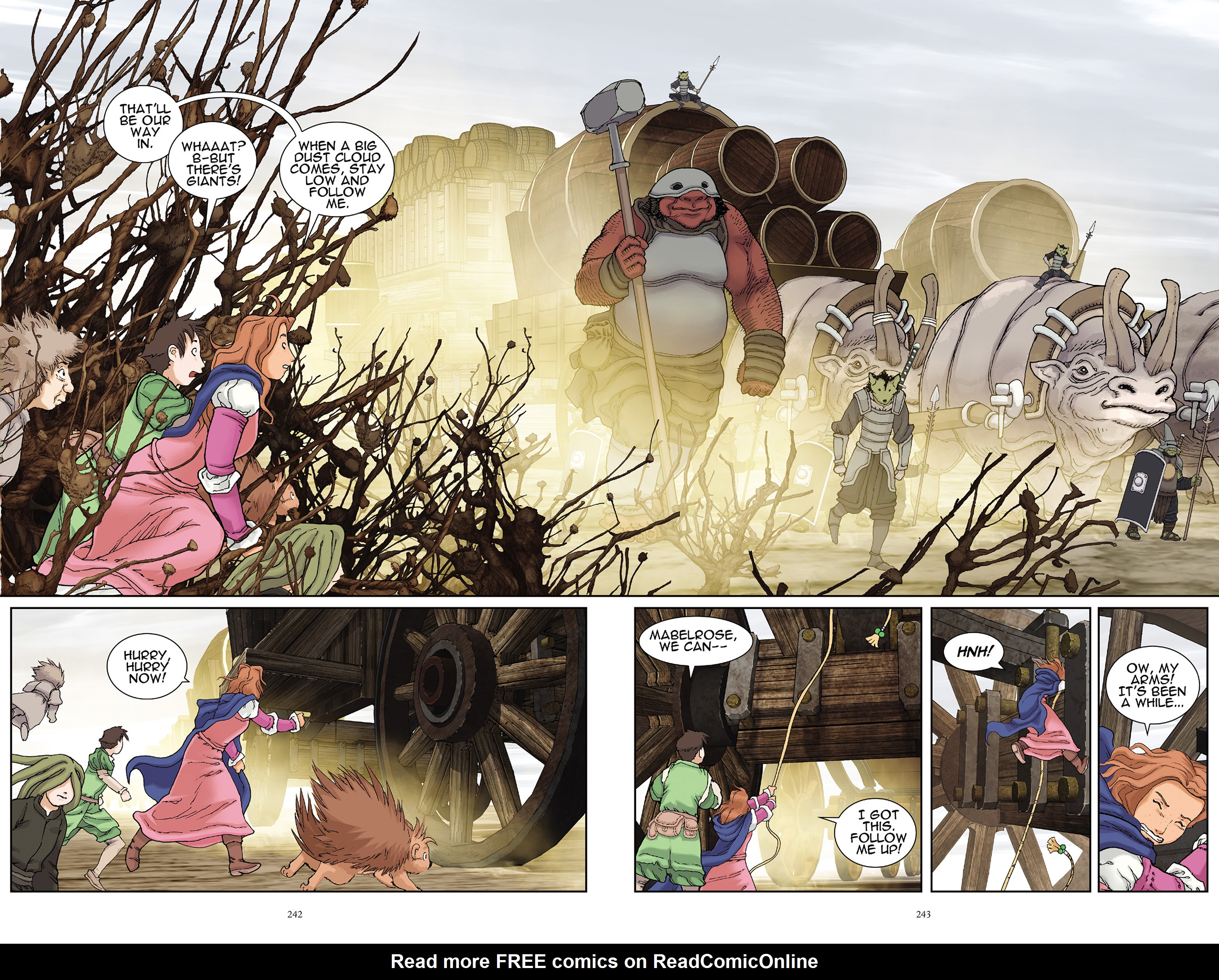 Read online Courageous Princess comic -  Issue # TPB 1 - 238