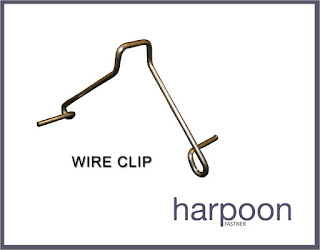 Gypsum ceiling material WIRE CLIP