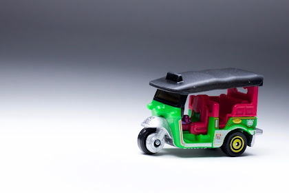Tuk-tuk New Model nyentrik dari Matchbox 2017