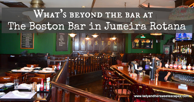 The Boston Bar in Jumeira Rotana