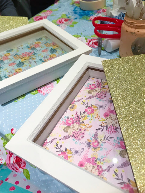 Valentine's Day Frame Craft DIY Workshop - Pretty Things