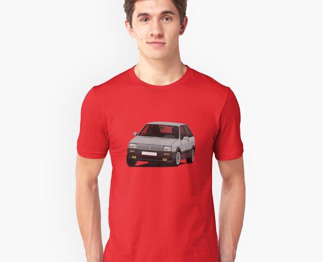 Cornerign SEAT Ibiza SXi  - T-shirt