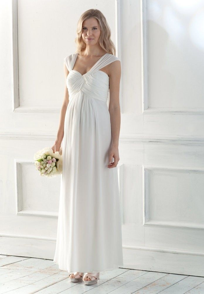 The Maternity Wedding dress can be custom made to neatly fit your unique shape and provide the ultimate support for your baby bearing body. This type of dress is made to be comfy so that the bride and mother to be will remain at ease at the entire day of the wedding.