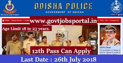 police vacancy