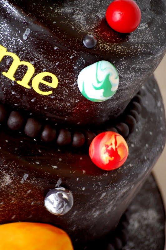 3d solar system birthday cake - photo #2