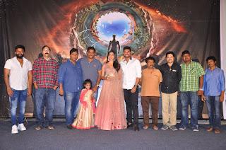 Pooja Hegde in Lovely ghagra Choli at Sakshyam Telugu Movie First Look Poster Launch
