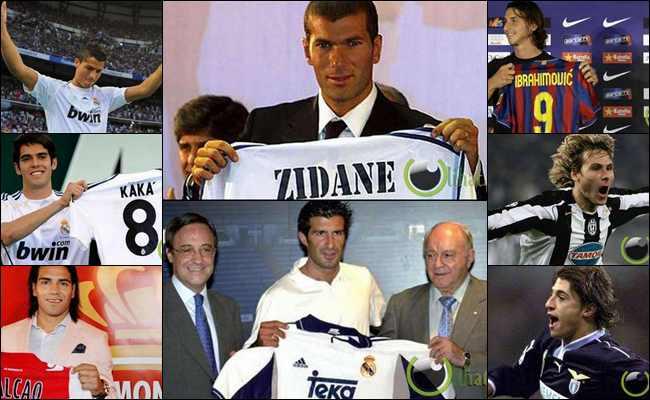 10 Transfer Pemain Sepakbola yang paling Menguntungkan di Dunia