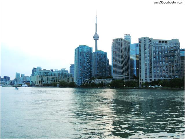 Vistas desde el Ferri de Toronto