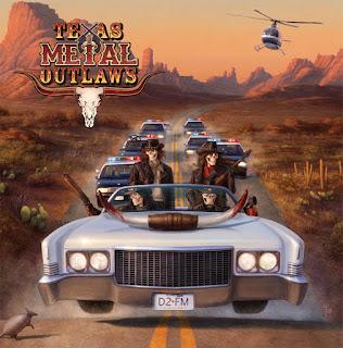 Το βίντεο των Texas Metal Outlaws για το ομώνυμο τραγούδι από τον ομότιτλο δίσκο