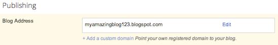 blog address